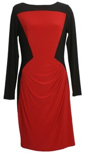Lauren Ralph Lauren short dress Black Red on Tradesy