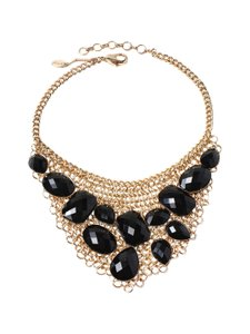 amrita singh Amrita Singh Asher Statement Necklace Black