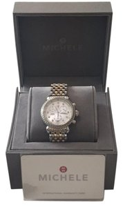 Michele Michele CSX-36 Diamond dial 2 tone watch