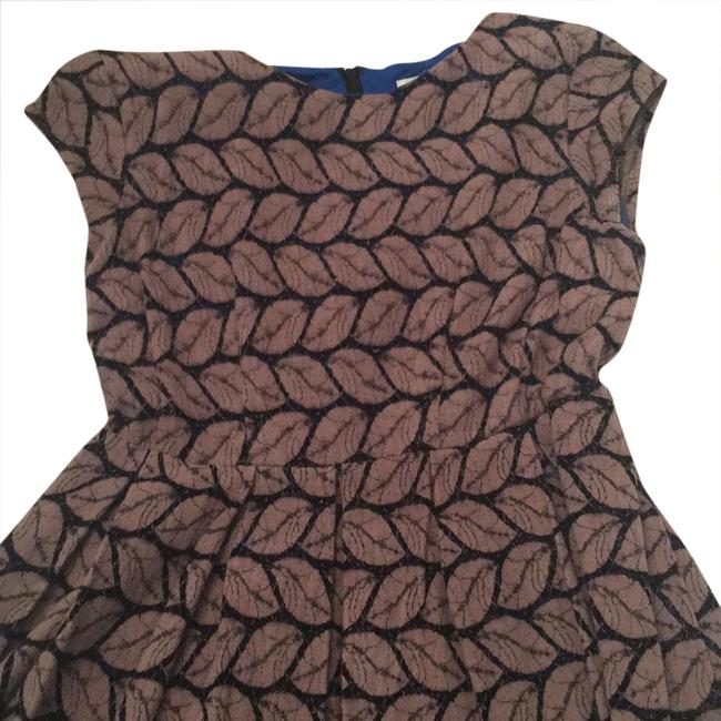 Preload https://img-static.tradesy.com/item/20849009/esley-royal-inside-and-brown-and-black-short-casual-dress-size-4-s-0-1-650-650.jpg