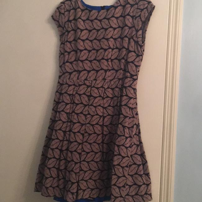 Esley short dress royal inside and brown and black on Tradesy Image 5