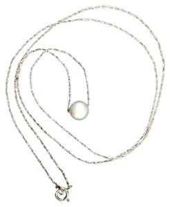 14K PEARL NECKLACE.
