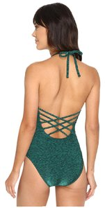 La Blanca La Blanca Spruce It Up Keyhole Halter Mio One Piece Swimsuit EU 44