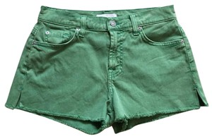 7 For All Mankind Mini/Short Shorts Green