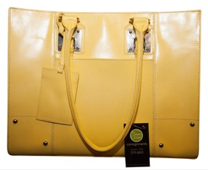 Wilsons Leather Tote in Mustard Yellow
