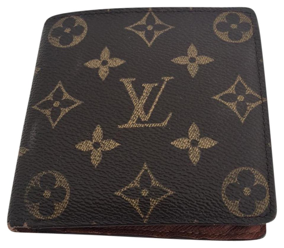 814bb8c3fbe9 Louis Vuitton Louis Vuitton USED LV Monogram Bi-Fold Wallet MARCO Image 0  ...