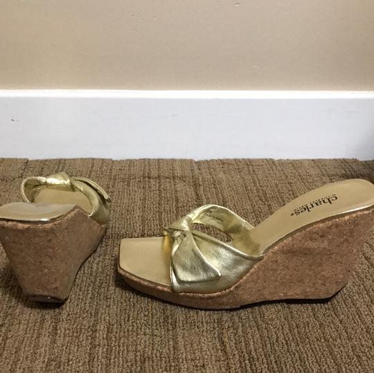 Charles by Charles David gold Wedges Image 4