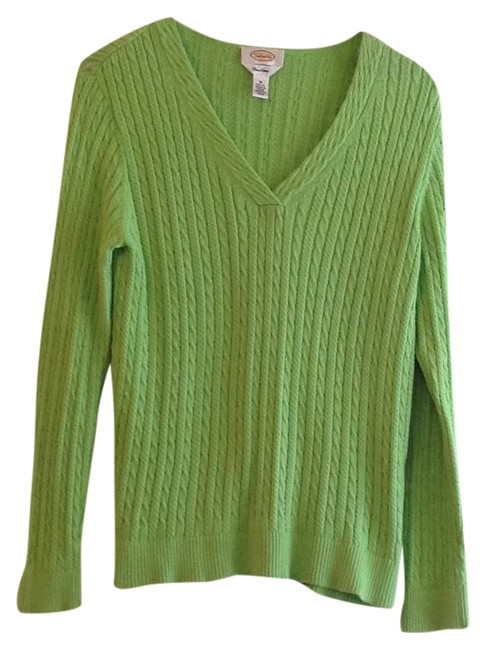 Preload https://img-static.tradesy.com/item/20849384/talbots-green-sweater-0-1-650-650.jpg