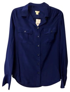 J.Crew Button Down Shirt royal blue
