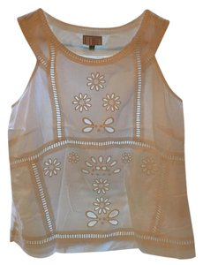 Jack Wills Embroidered Summer Top White