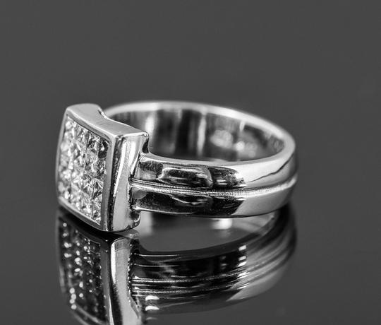 Other 14K White Gold and 1.00 CTW Invisible Set Diamond Ring Image 2
