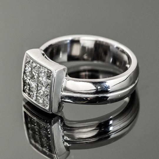 Other 14K White Gold and 1.00 CTW Invisible Set Diamond Ring Image 3