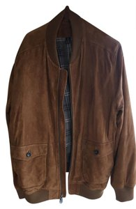 Brooks Brothers Mens Bomber Mens Brown Leather Mens Mens Mens Leather Camel Leather Jacket