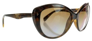 Prada SPR21N POLARIZED Cateye in Brown