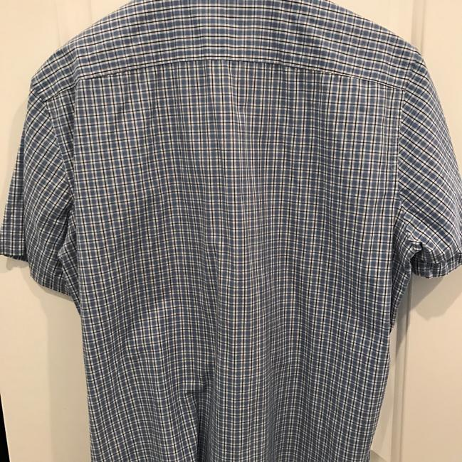 Michael Kors Button Down Shirt blue and white Image 2