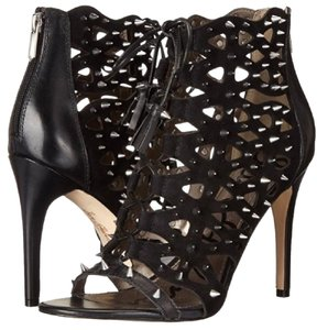 Sam Edelman Laceup Suede Leather Spike Sandals