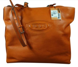 Tod's Tote in Orange