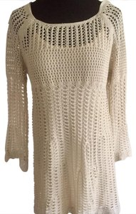 love market short dress cream on Tradesy