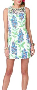 Lilly Pulitzer short dress Blue, Green, Orange, Pink, White on Tradesy