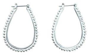 Premier Designs oval hoop earrings