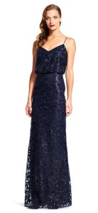 Adrianna Papell Mermaid Sequin Formal Dress
