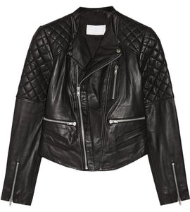 W118 by Walter Baker Moto Motorcycle Quilted Leather Jacket