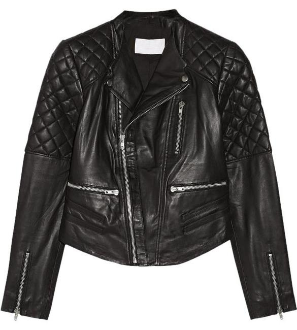 W118 by Walter Baker Moto Motorcycle Quilted Leather Jacket Image 0