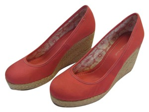 Montego Bay Club Brand New Size 8.50 M Excellent Condition Coral, Neutral Wedges