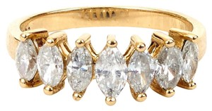 Other Marquise Diamond Band with 14K Yellow Gold Ring
