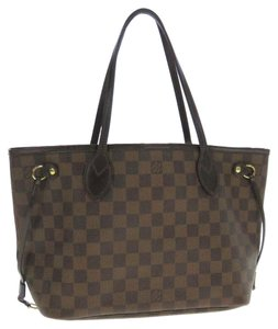 Louis Vuitton Neverfull Pm Damier Shoulder Bag