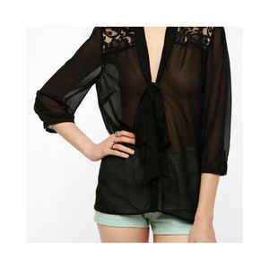 Pins and Needles Top Black