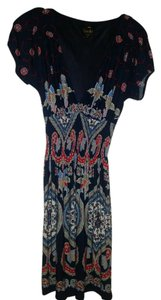 Laundry by Shelli Segal short dress blue multi on Tradesy