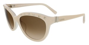 Valentino Valentino Ivory/Cream Cat Eye Valentino Sunglasses