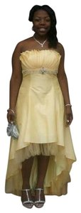 Nordstrom Prom Militaryball High Low Dress