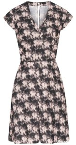 Reiss short dress brown, pink on Tradesy