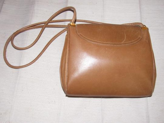 Gucci Mint Vintage Expandable Sides Early 60's Mod Leather/Gold Envelope Top Purse Shoulder Bag Image 9
