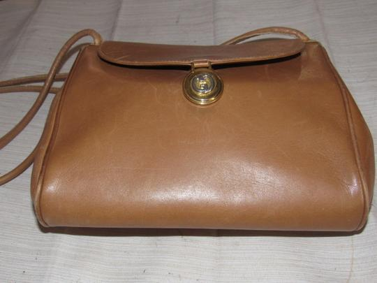 Gucci Mint Vintage Expandable Sides Early 60's Mod Leather/Gold Envelope Top Purse Shoulder Bag Image 6