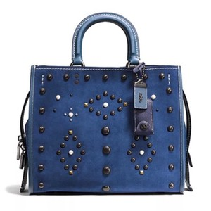 Coach 1941 Satchel in Denim Blue