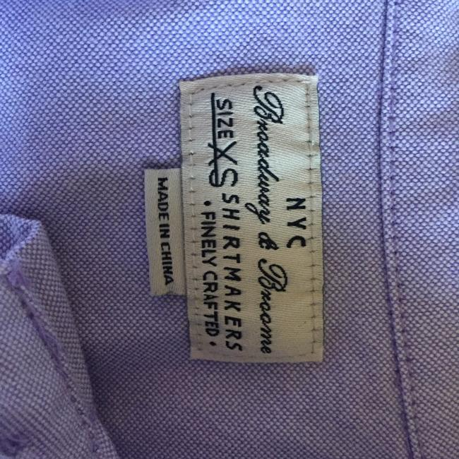 Madewell Button Down Shirt lavender Image 2