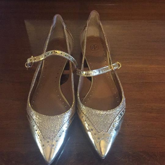 Tory Burch gold Flats Image 1