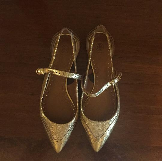 Tory Burch gold Flats Image 2