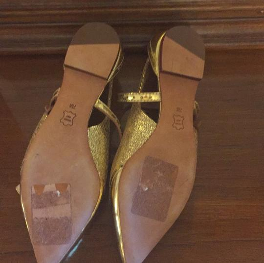 Tory Burch gold Flats Image 4