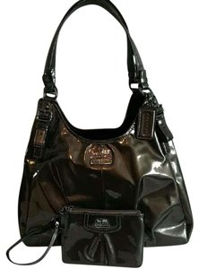 Coach Patent Leather Maggie Madison Shoulder Bag