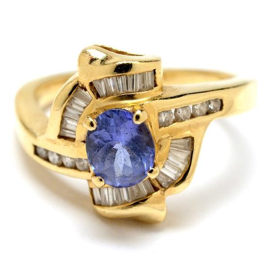 Other 14K Yellow Gold Tanzanite and Diamond Ring NEW LOWER PRICE !!!!!!!!!!! Image 1