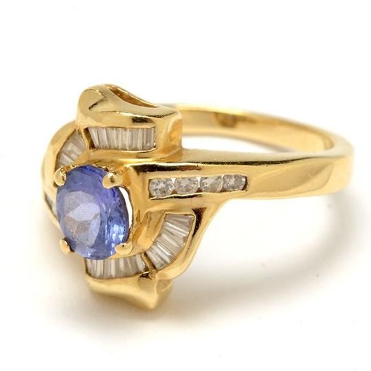 Other 14K Yellow Gold Tanzanite and Diamond Ring NEW LOWER PRICE !!!!!!!!!!! Image 3