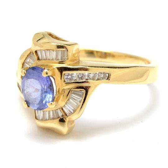 Other 14K Yellow Gold Tanzanite and Diamond Ring NEW LOWER PRICE !!!!!!!!!!! Image 5
