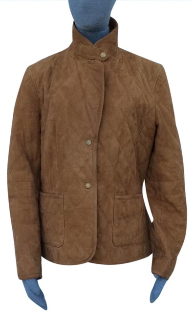 Preload https://img-static.tradesy.com/item/20850734/brooks-brothers-tan-suede-leather-jacket-size-8-m-0-1-650-650.jpg