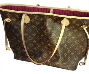 Louis Vuitton Lv Neverfull Mm Tote in Monogram