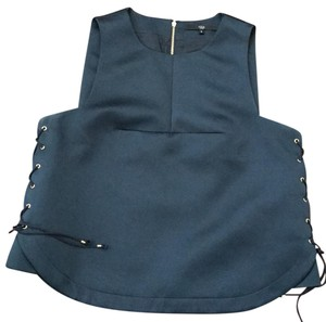 Tibi Top blue/slate