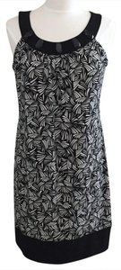 En Focus Studio short dress Black Soft Sleeveless Polyester on Tradesy